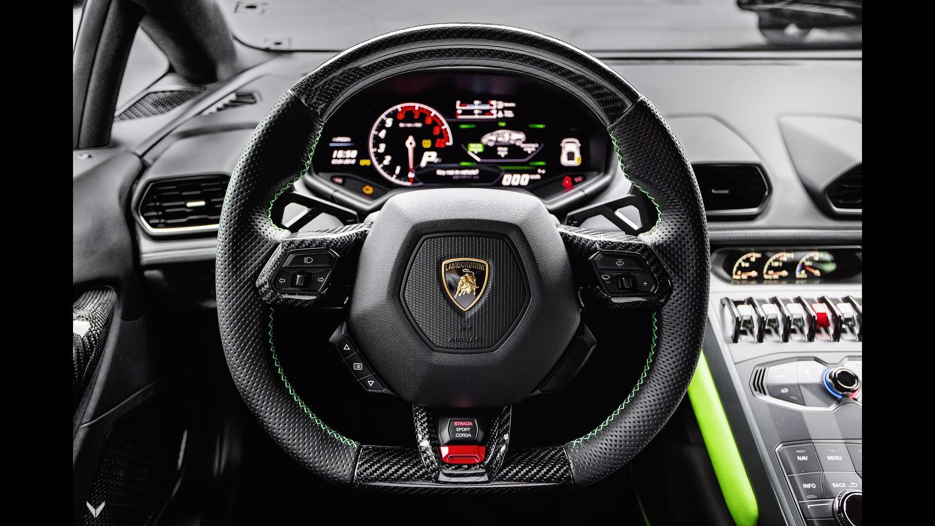 Lamborghini Huracan Verde Mantis Vilner (6)