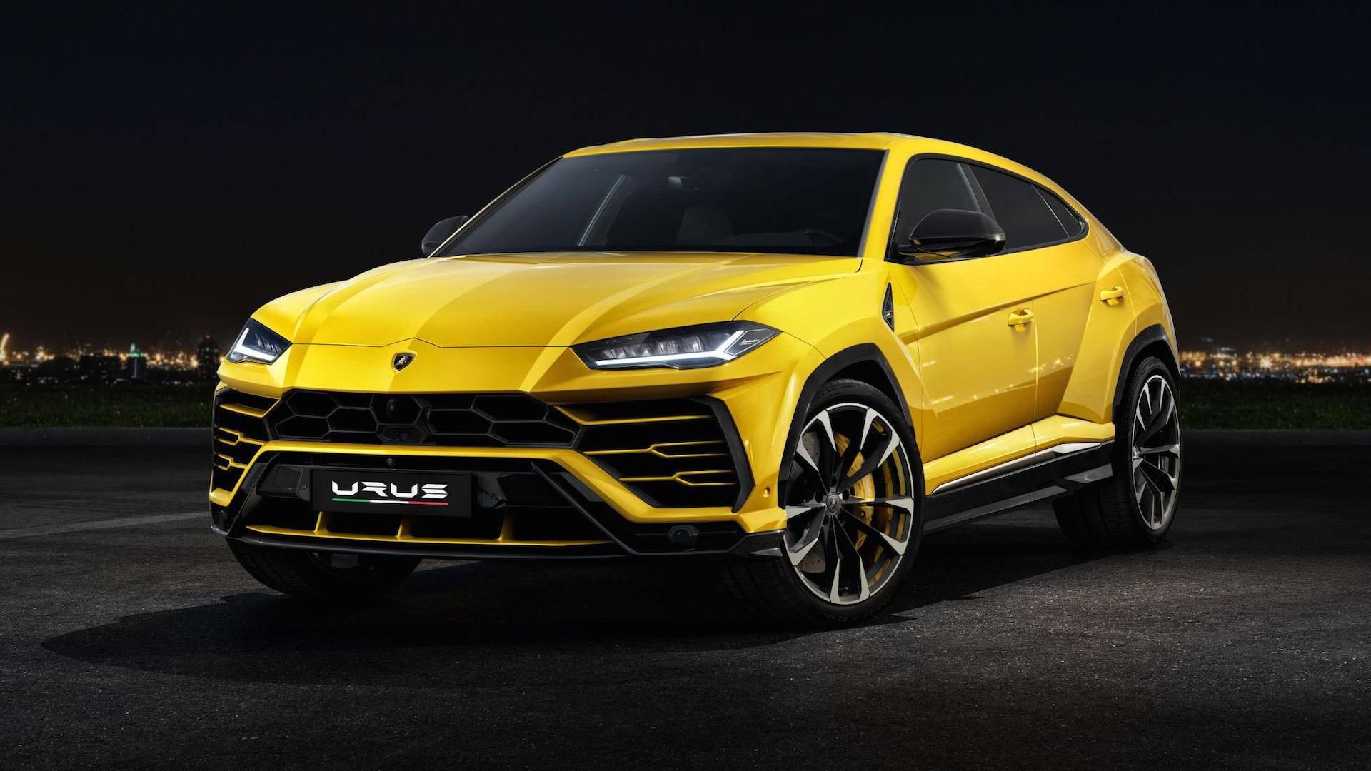 Lamborghini Urus 2018 (1)