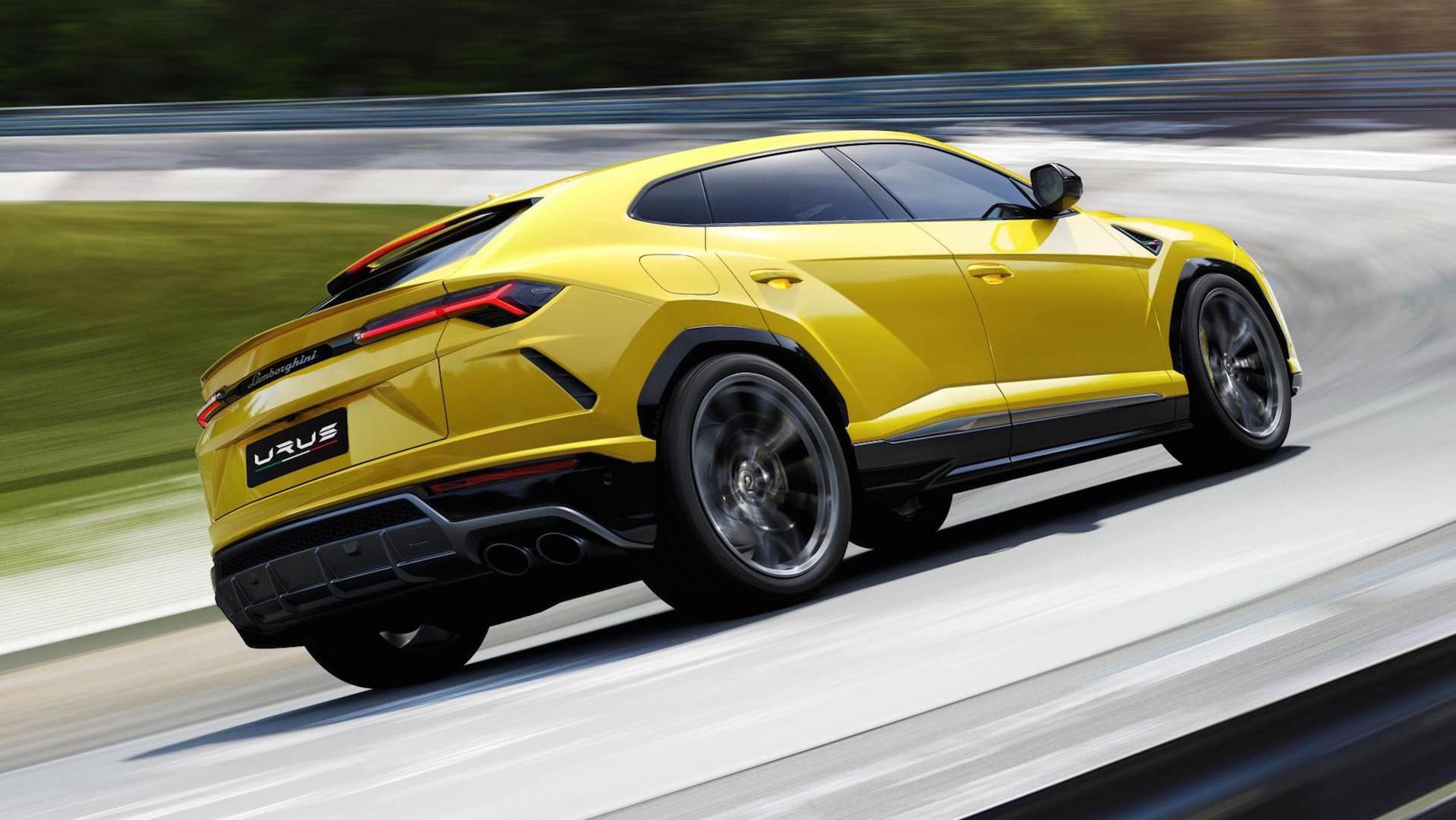 Lamborghini Urus 2018 (11)