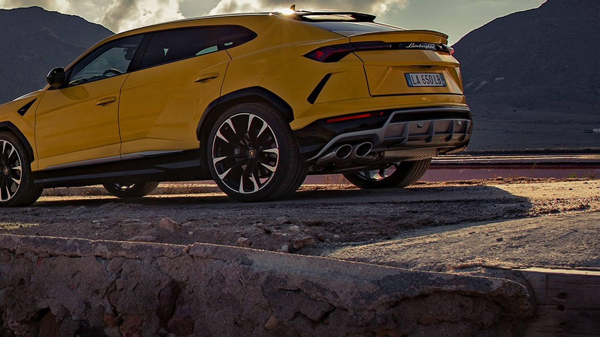 Lamborghini Urus 2018 (14)