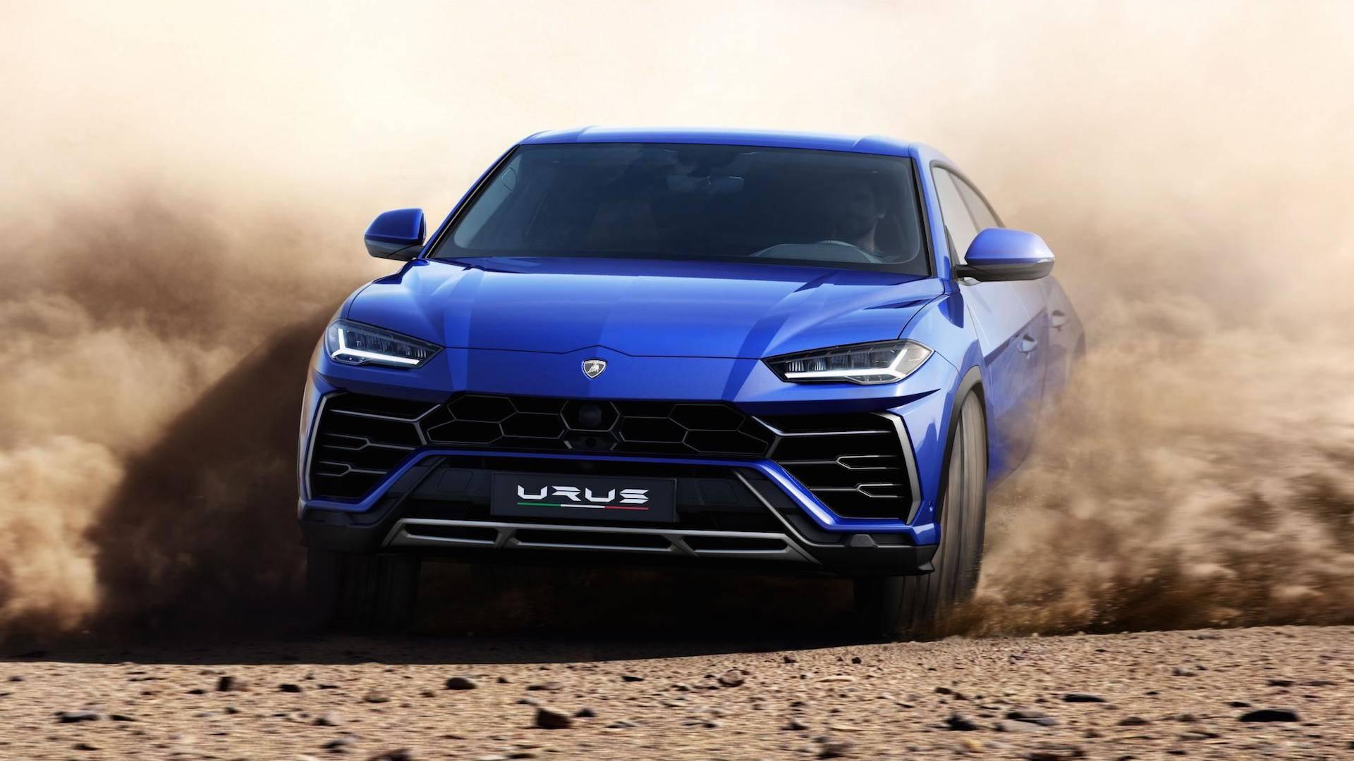 Lamborghini Urus 2018 (17)