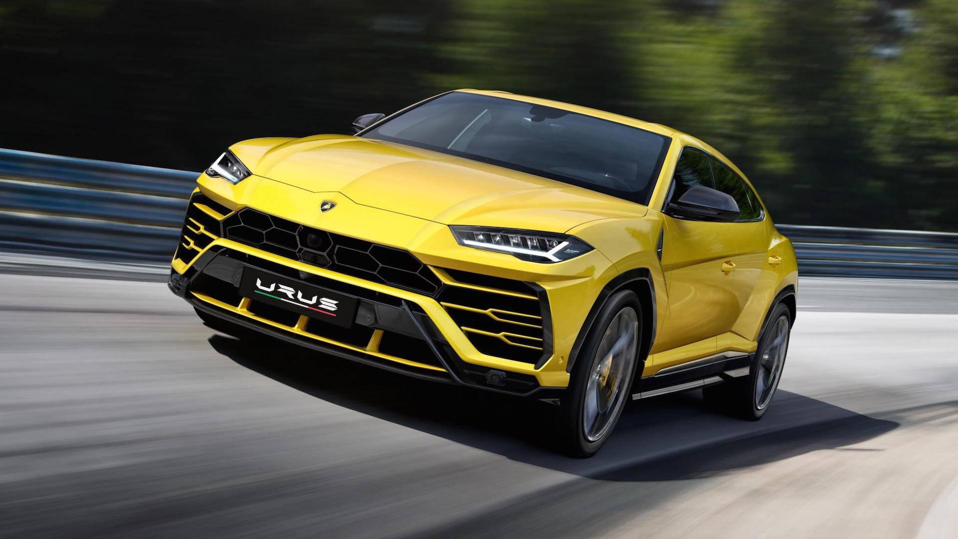 Lamborghini Urus 2018 (2)