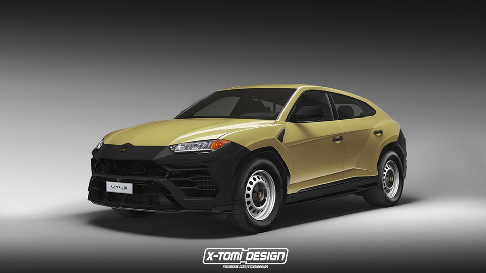 Lamborghini Urus base spec and Sport Turismo renderings (1)