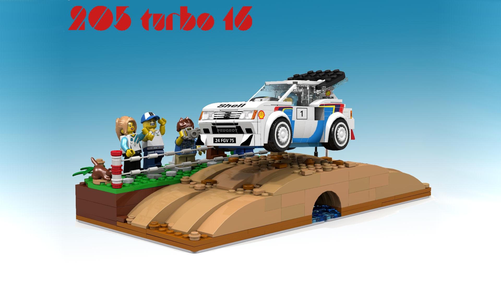 peugeo-205-t16-lego-porposal