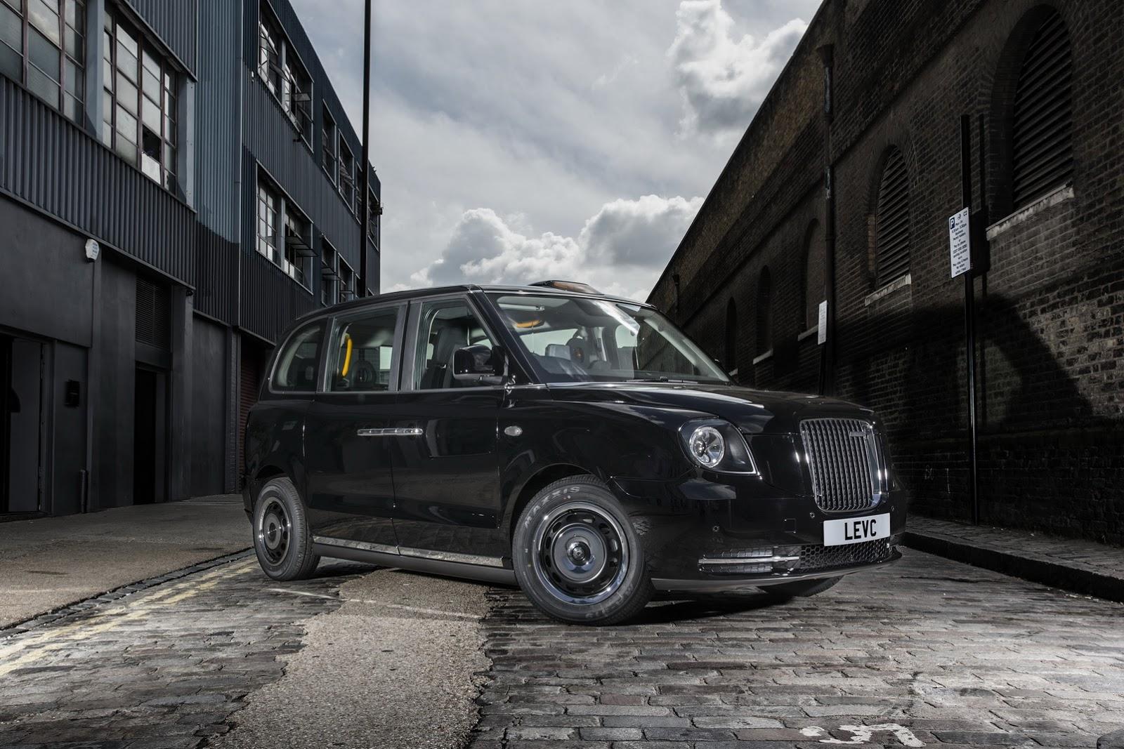 LEVC TX london ev taxi (1)