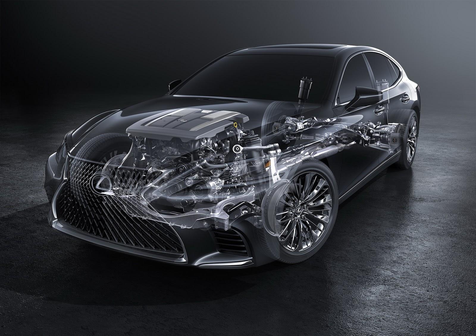 Lexus LS 2018 (66)