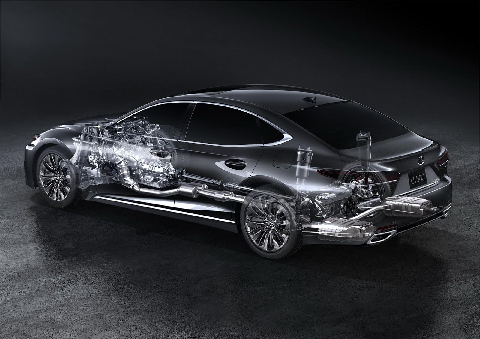 Lexus LS 2018 (67)