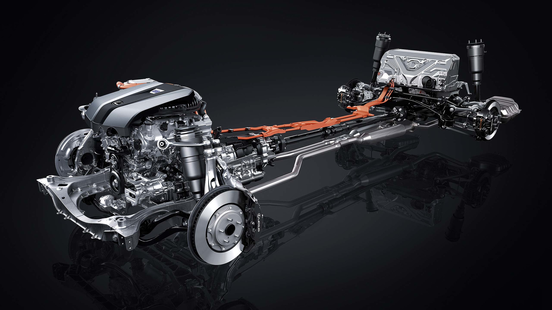 Lexus LS 500h hybrid system (2)