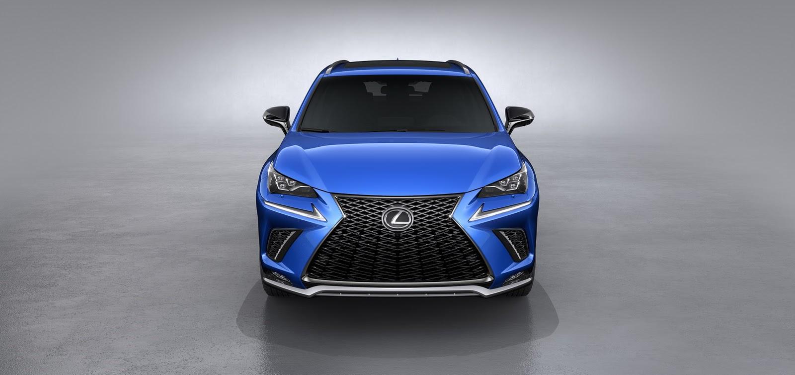 Lexus NX facelift 2018 (3)