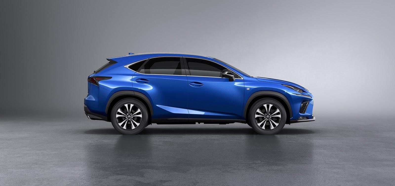 Lexus NX facelift 2018 (7)