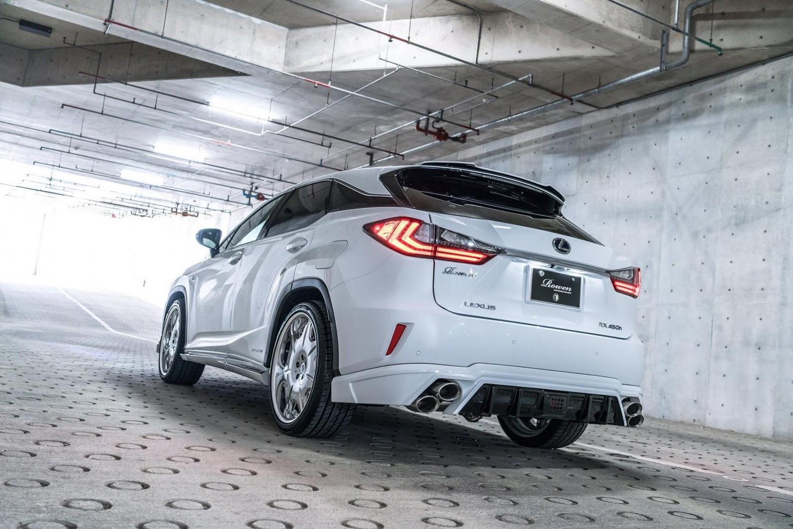 Lexus RX F-Sport by Rowen (6)