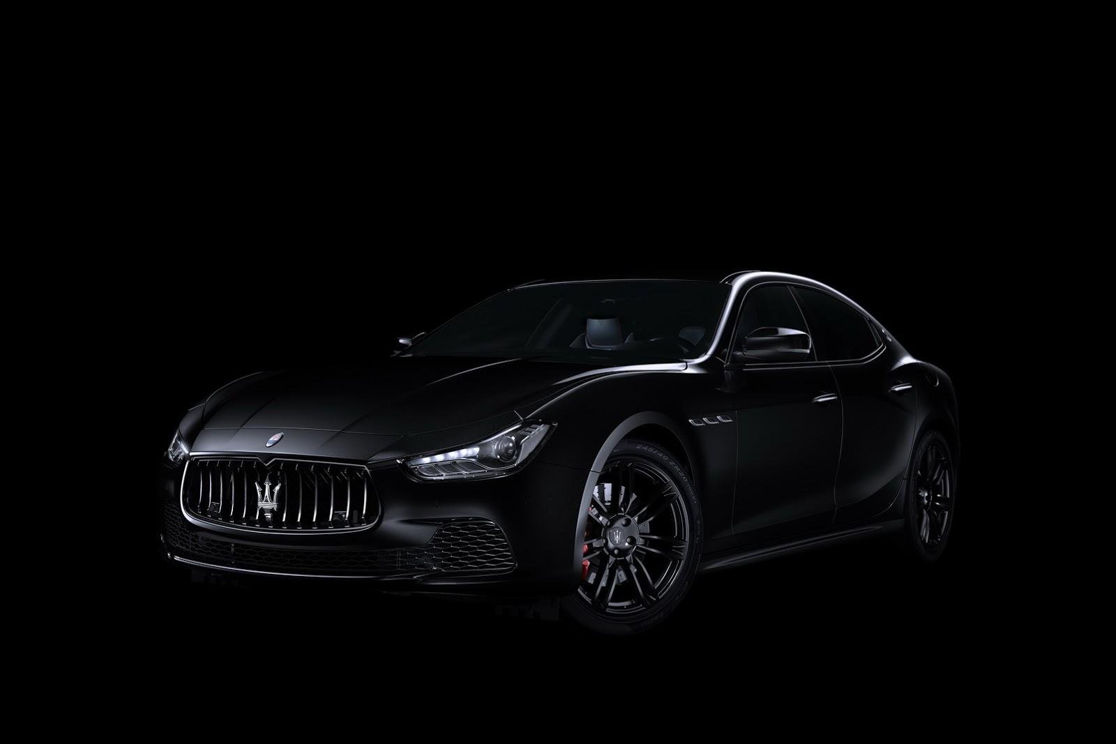 Maserati Ghibli Nerissimo (1)
