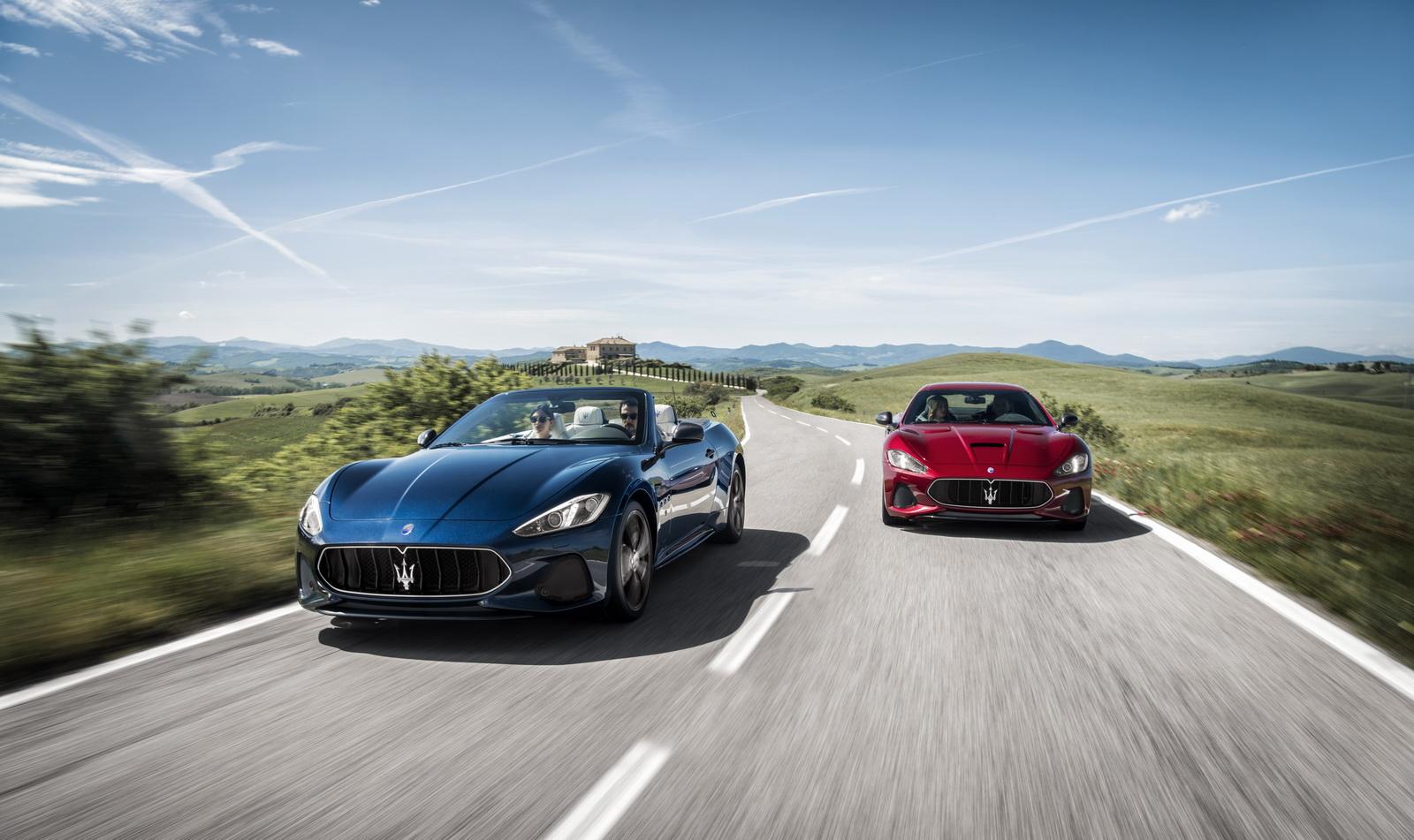 Maserati GranTurismo GranCabrio 2018 (1)