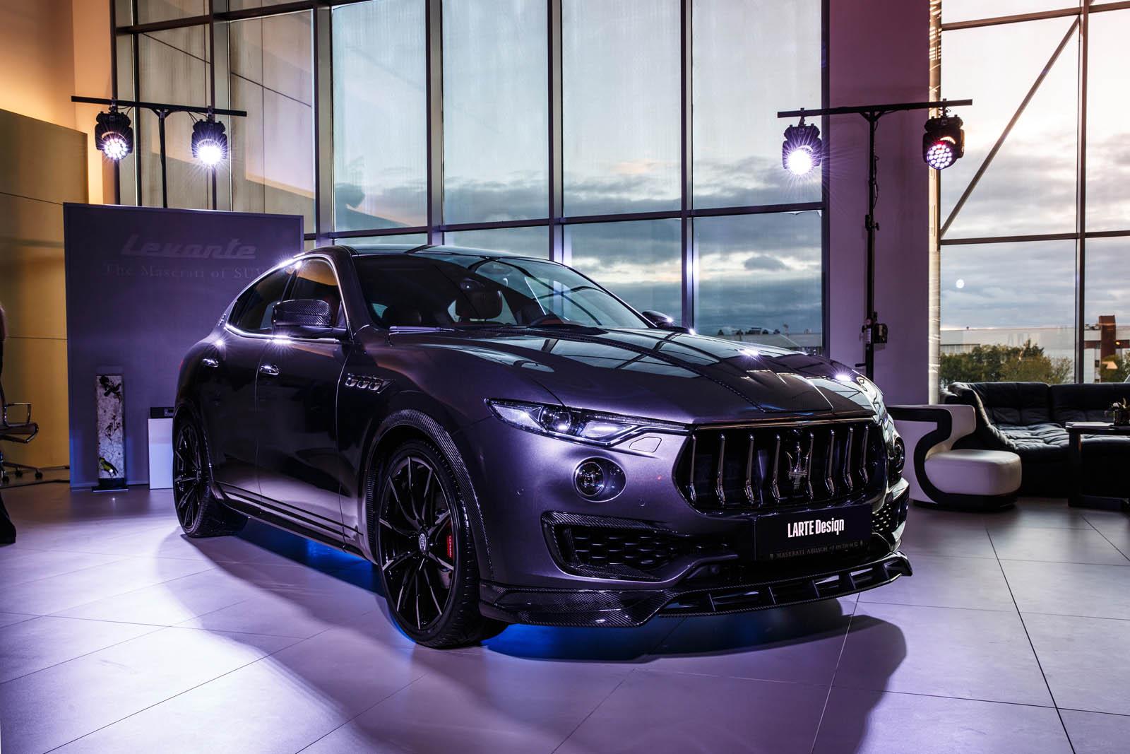 Maserati Levante S by Larte Design (28)