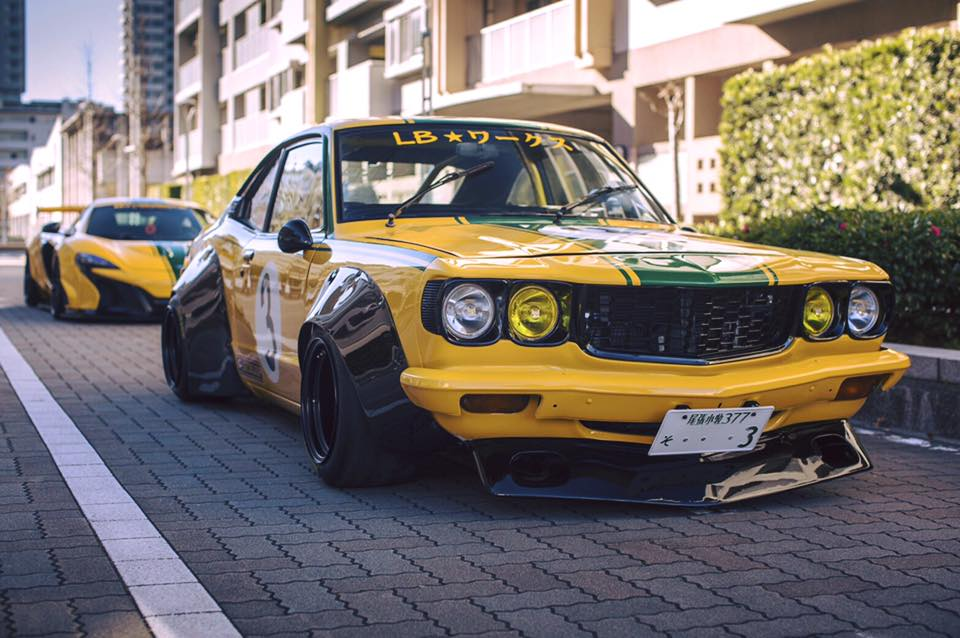 Mazda RX-3 Liberty Walk (3)