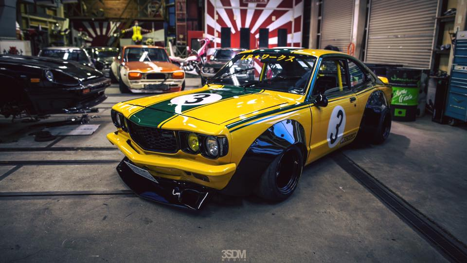 Mazda RX-3 Liberty Walk (8)