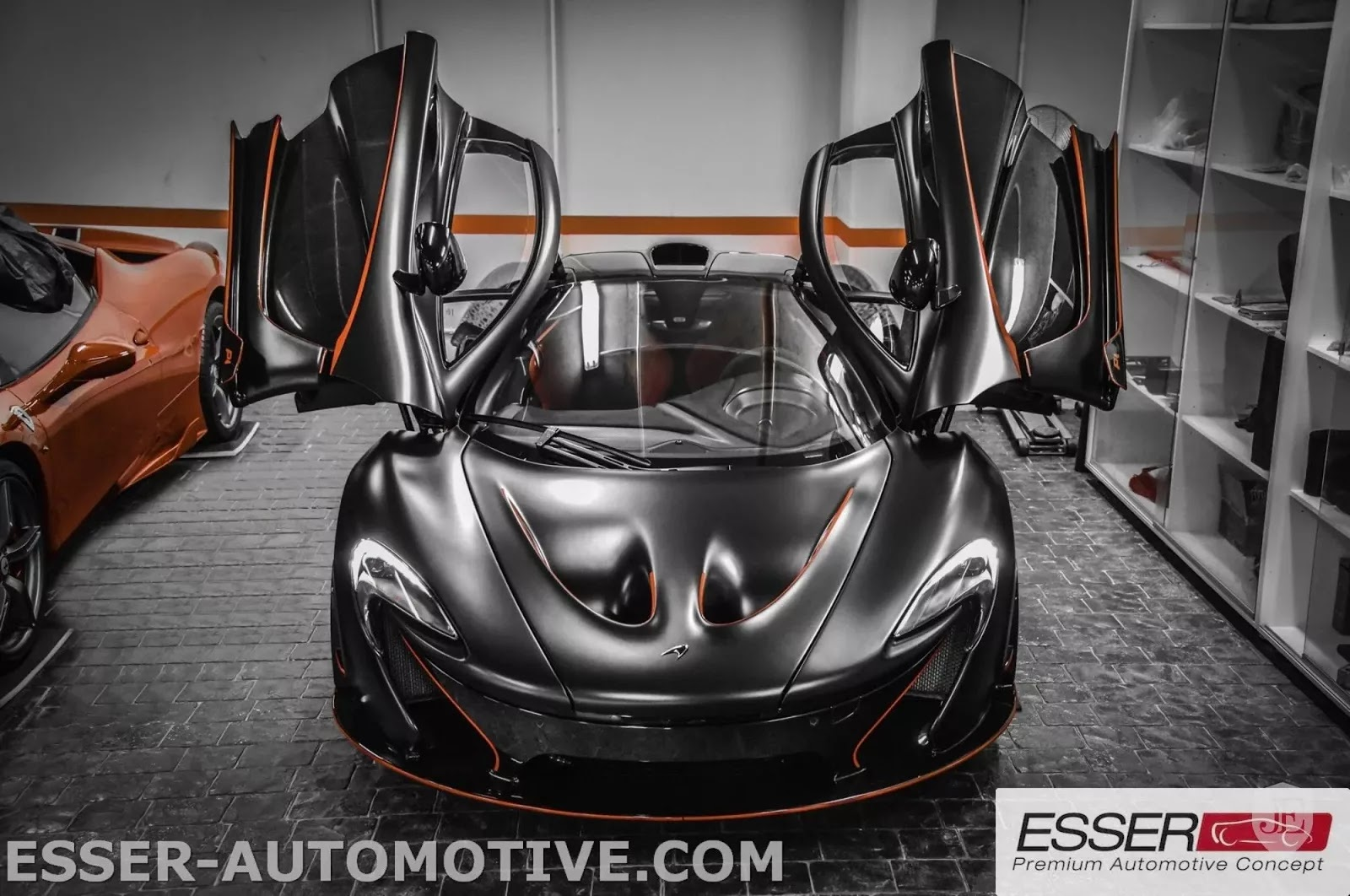 McLaren P1 MSO matte black for sale (1)