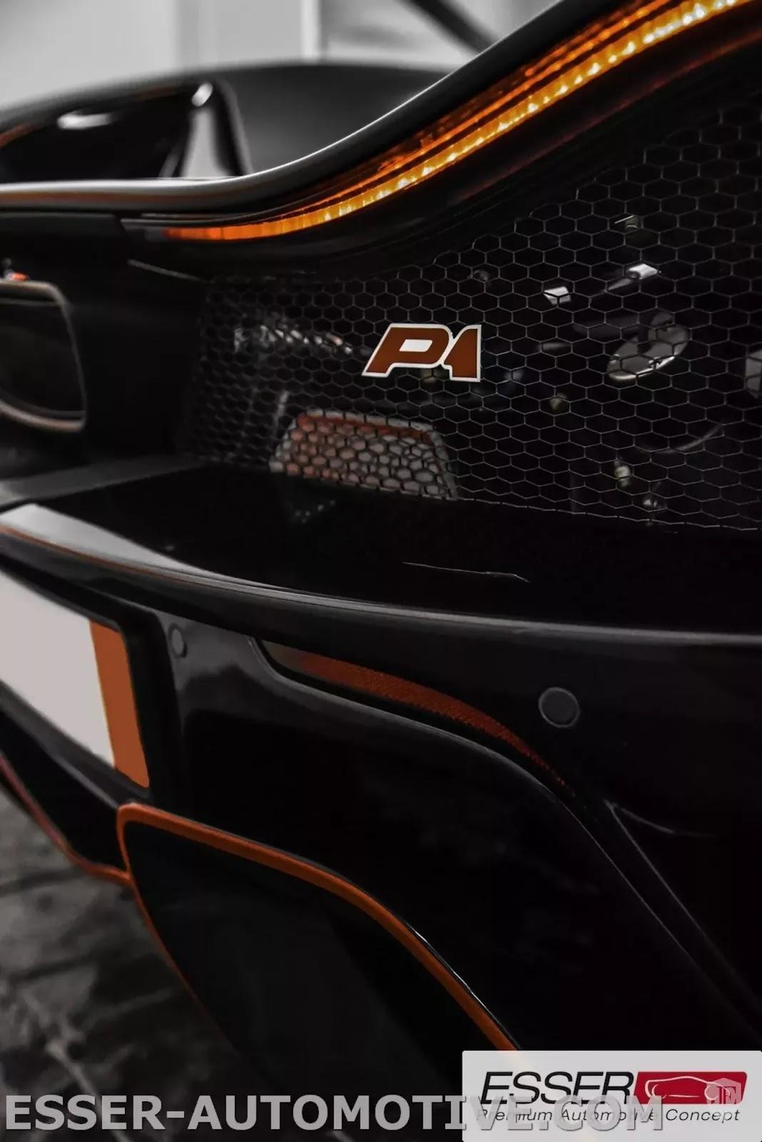 McLaren P1 MSO matte black for sale (5)