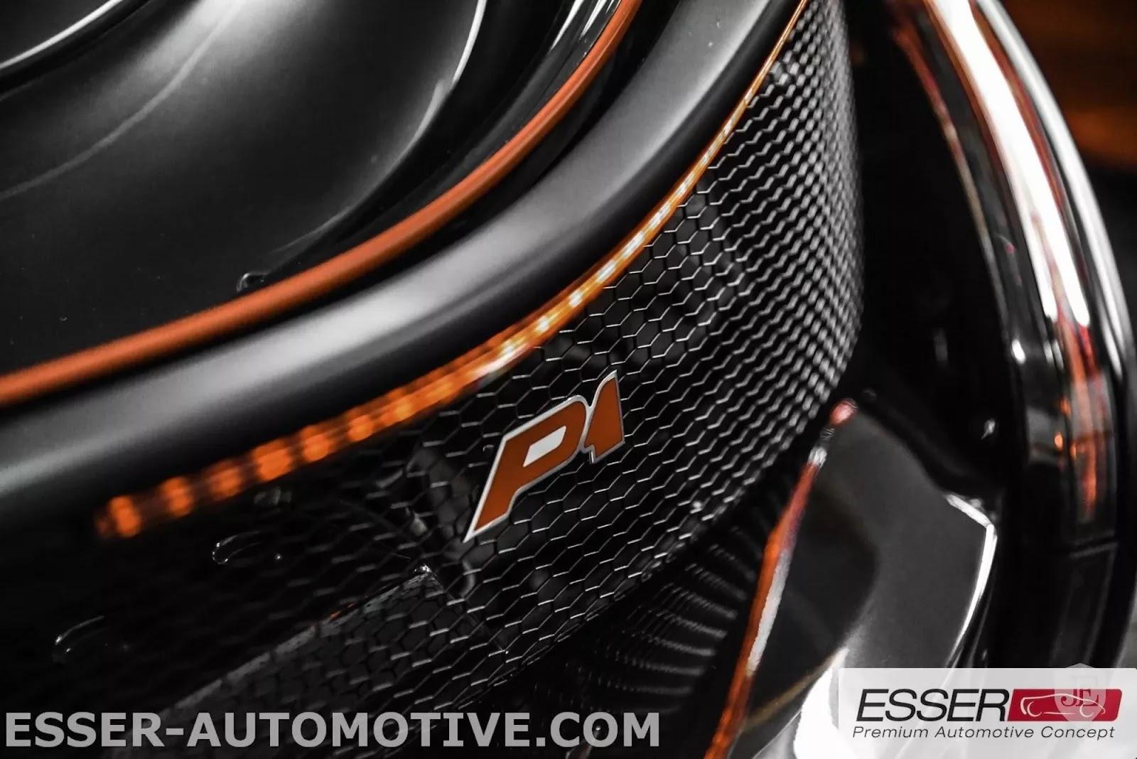 McLaren P1 MSO matte black for sale (6)