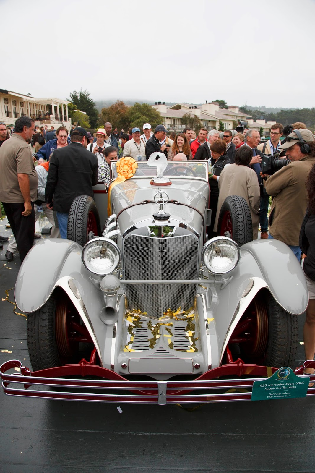 Mercedes-Benz 680S Torpedo Roadster 1928 in auction (4)