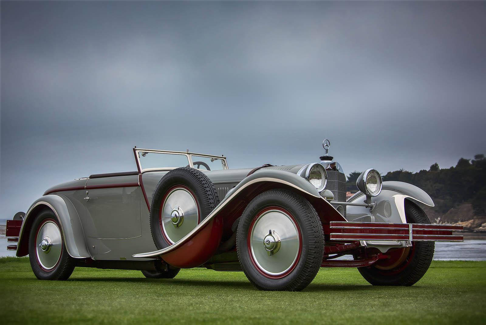 """""""Best of Show"""" beim Pebble Beach Concours d'Elegance 2012: Mercedes-Benz Typ S mit Saoutchik-Karosserie, Baujahr 1928. Mit Verweis auf seinen Hubraum von 6,8 Litern wird das Fahrzeug mitunter auch als Typ 680 S bezeichnet. ;""""Best of Show"""" at the Pebble Beach Concours d'Elegance 2012: Mercedes-Benz Type S with Saoutchik bodywork, built in 1928. Because of its 6.8-litre engine capacity, the car was also known as Type 680 S.;"""