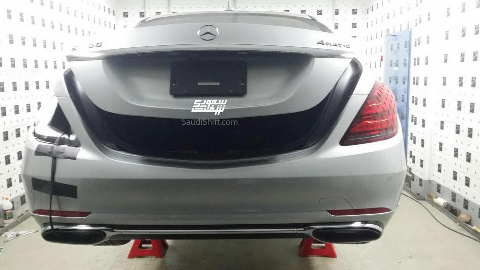 Mercedes S-Class facelift 2018-2