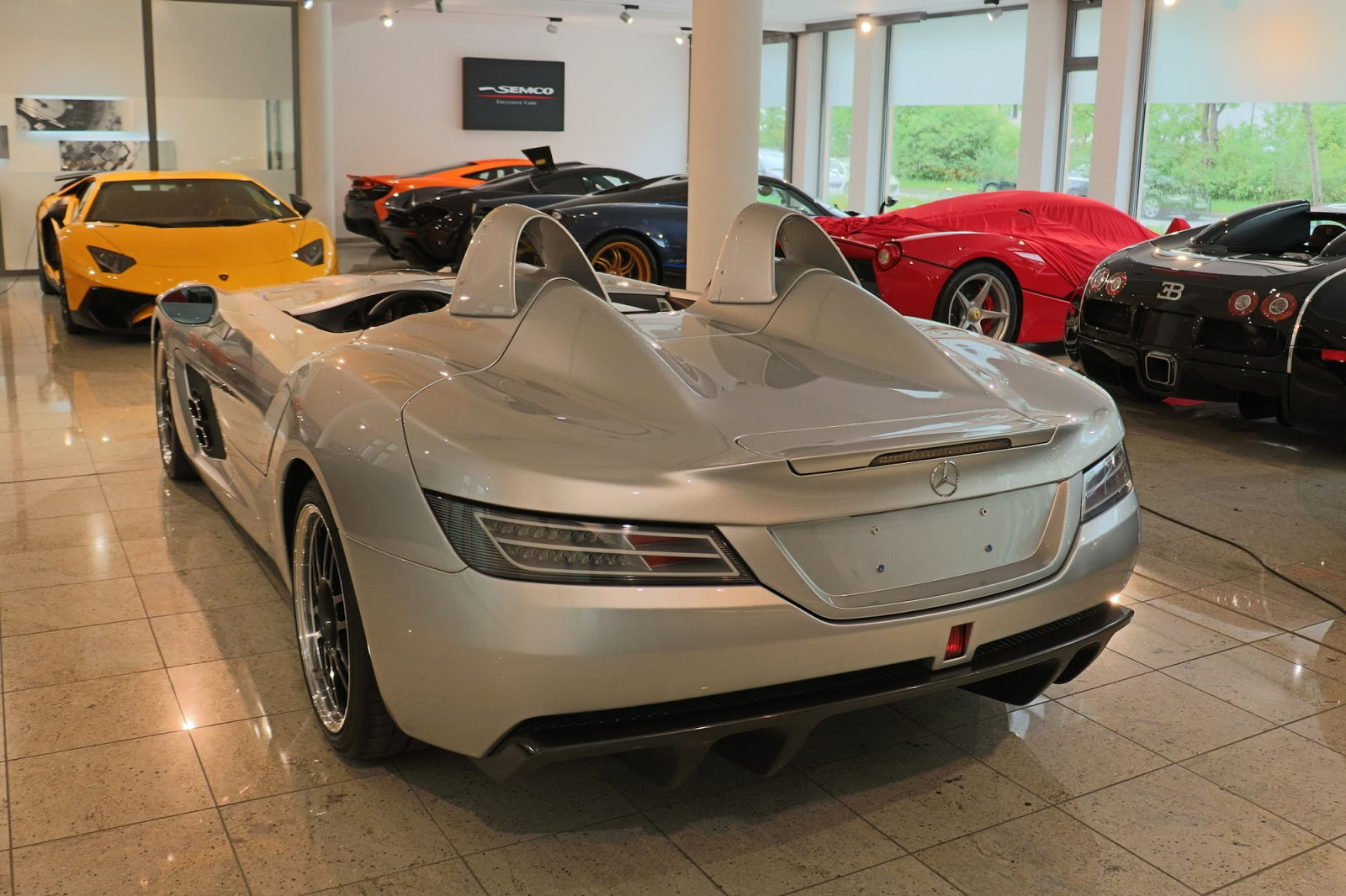 Mercedes-Benz SLR Stirling Moss for sale (2)