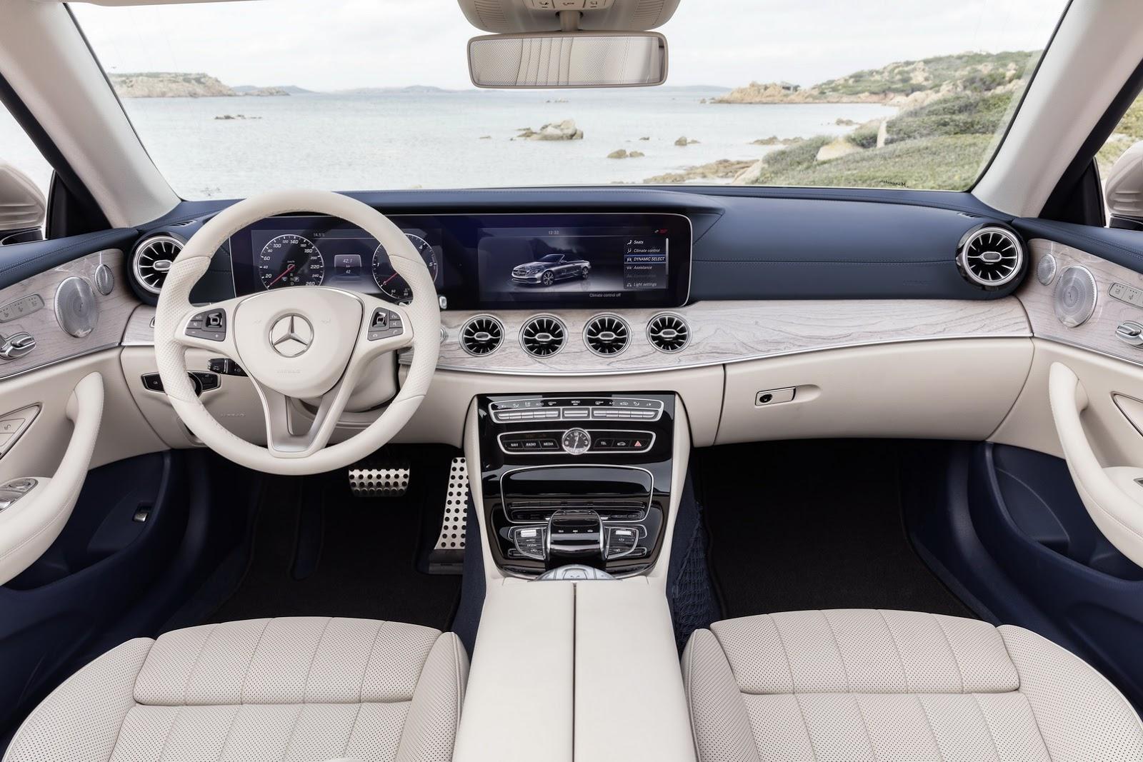Mercedes E-Class Cabriolet 2018 (38)