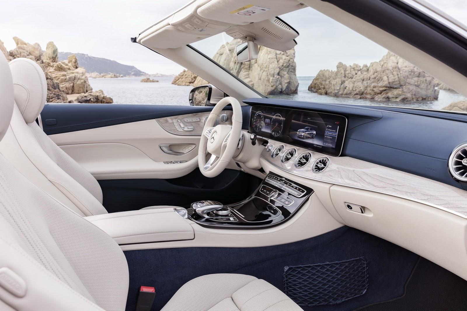 Mercedes E-Class Cabriolet 2018 (40)