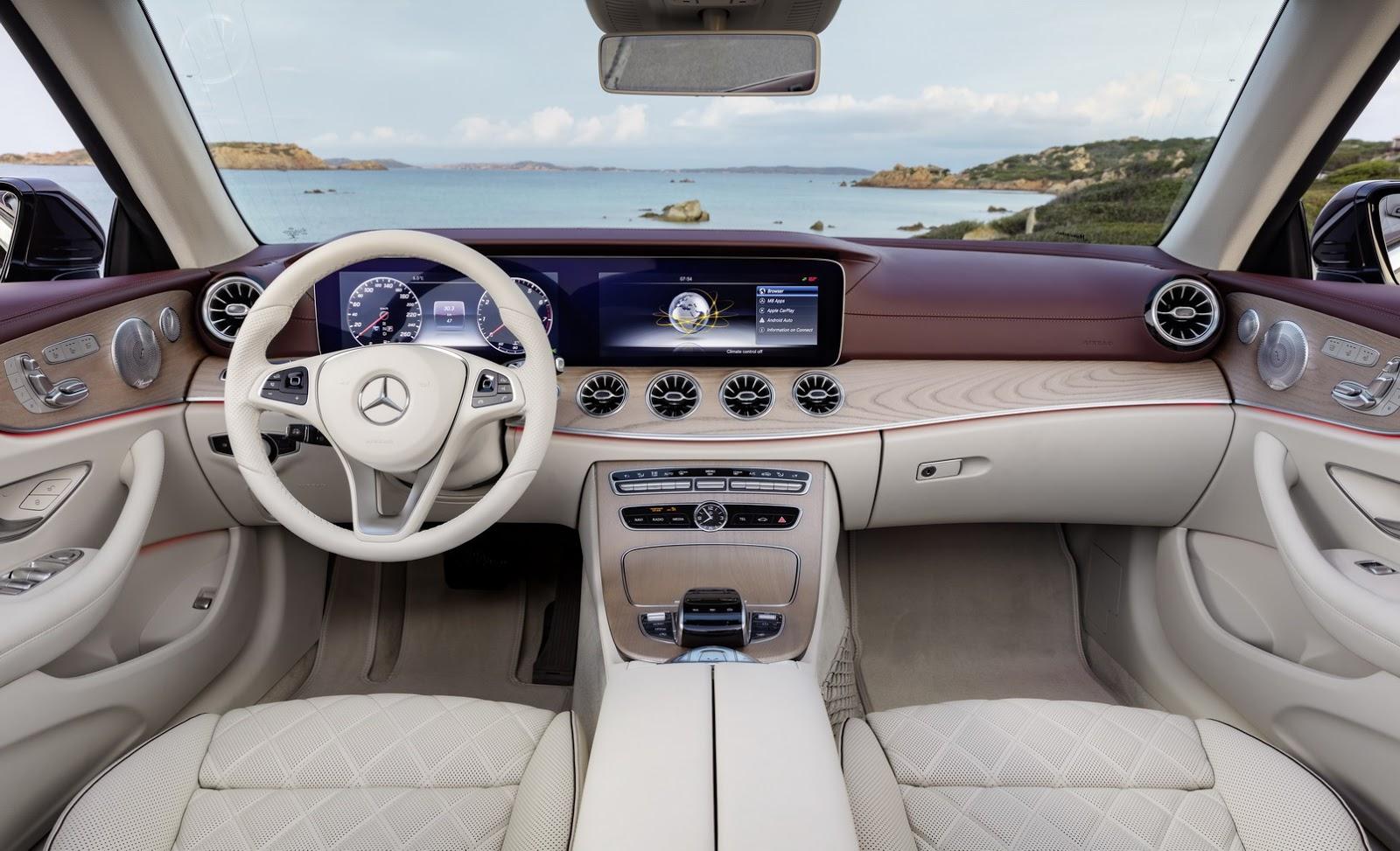 Mercedes E-Class Cabriolet 2018 (65)