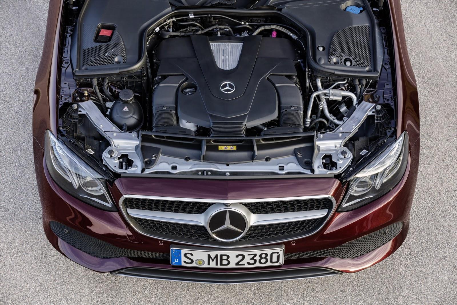 Mercedes E-Class Cabriolet 2018 (66)