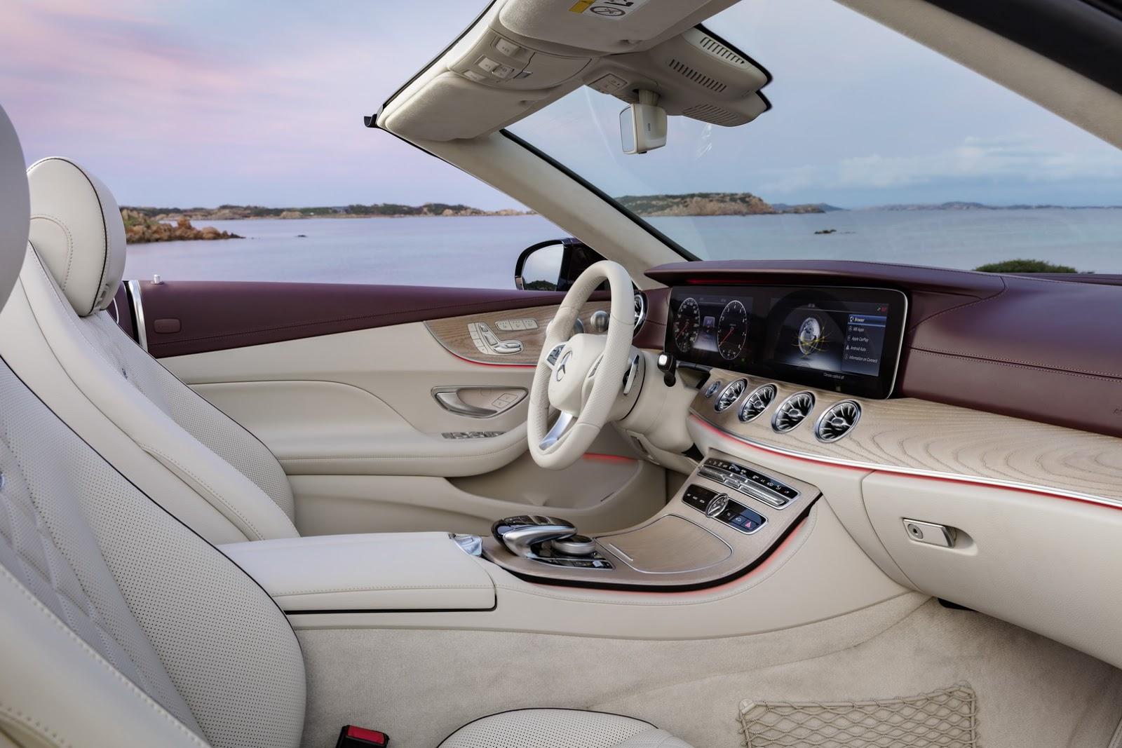 Mercedes E-Class Cabriolet 2018 (69)