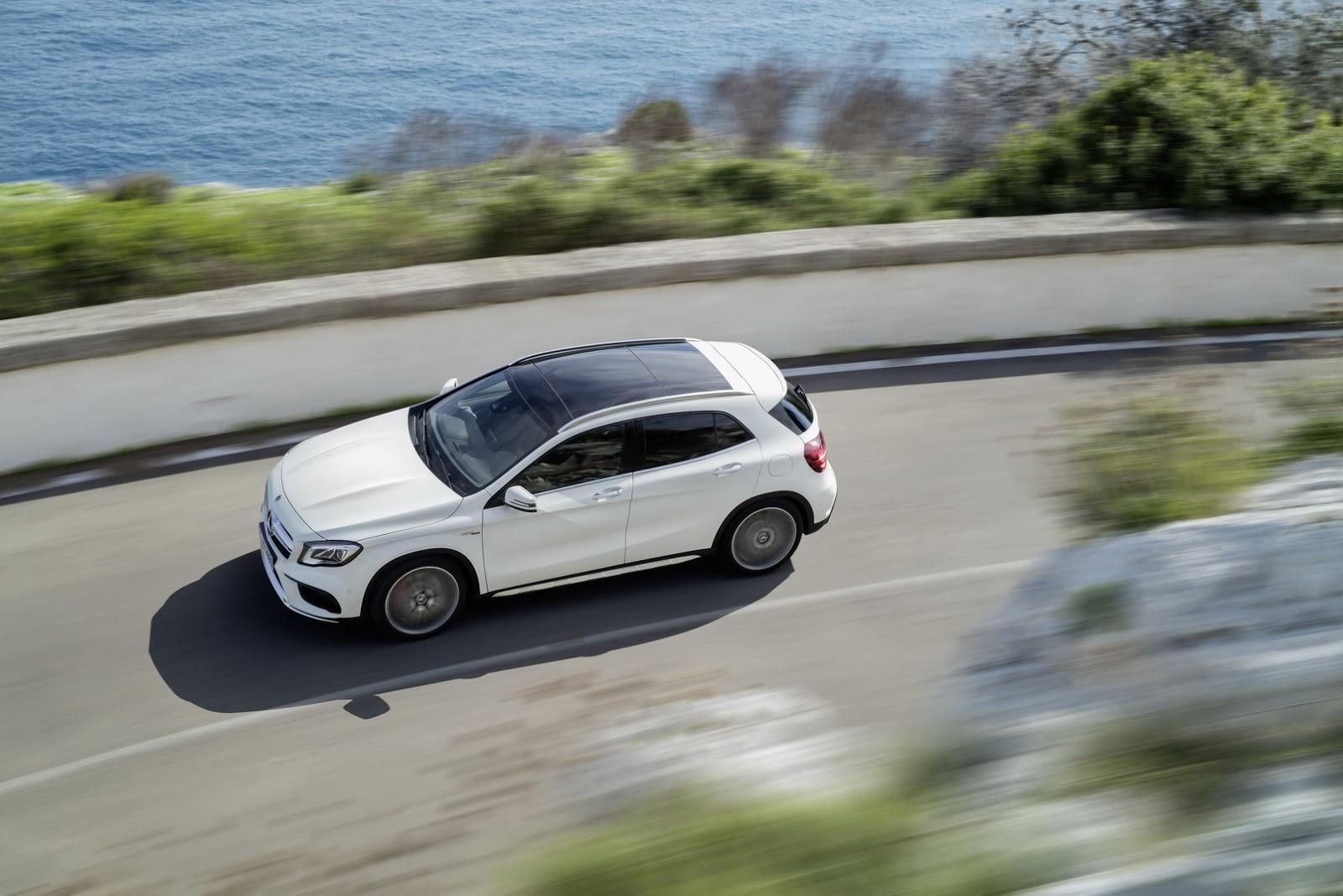 Mercedes GLA facelift and GLA 45 AMG facelift 2017 (10)