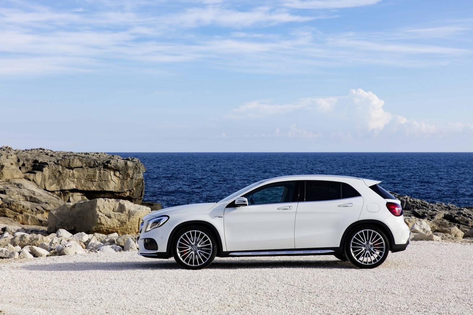 Mercedes GLA facelift and GLA 45 AMG facelift 2017 (13)