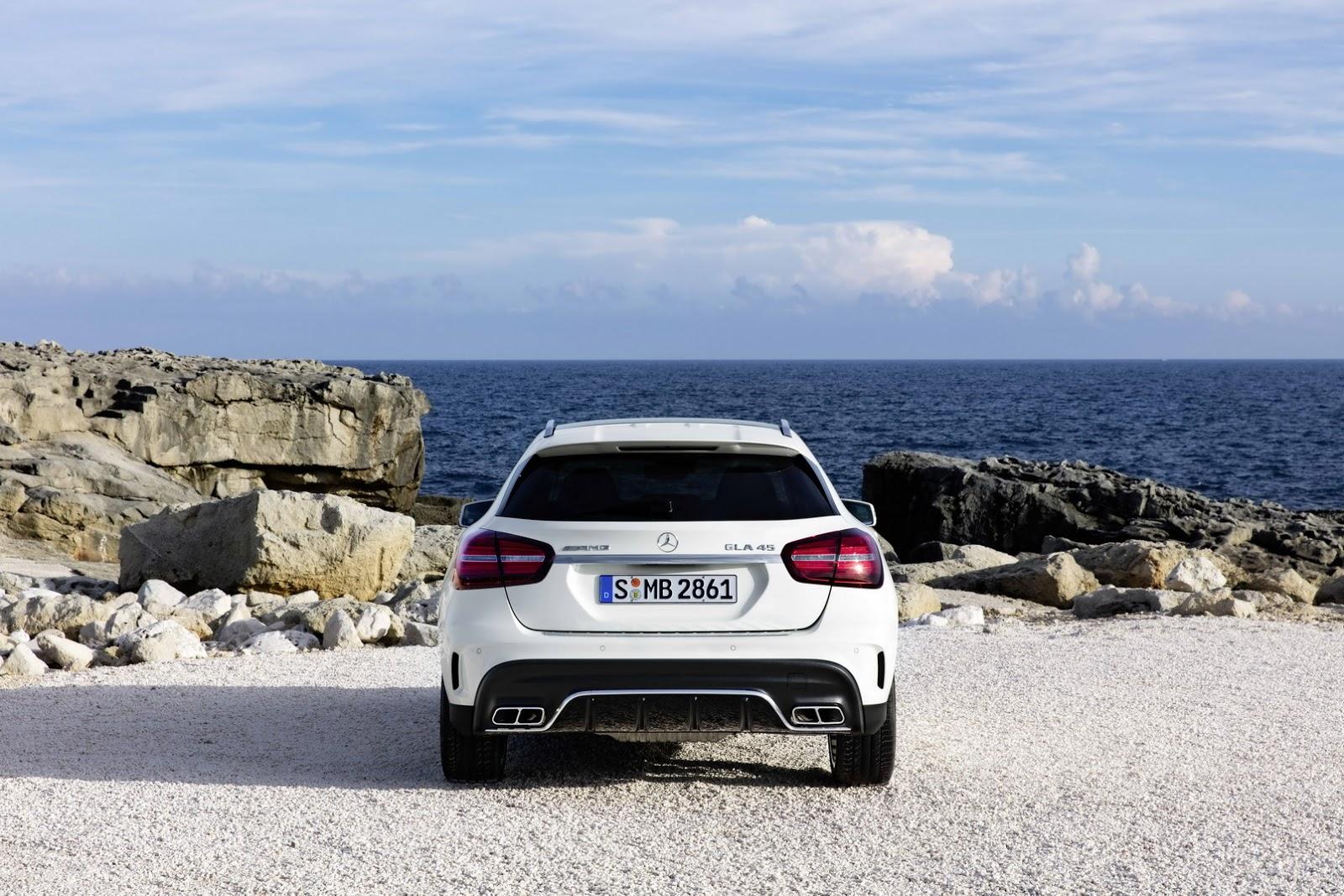 Mercedes GLA facelift and GLA 45 AMG facelift 2017 (18)