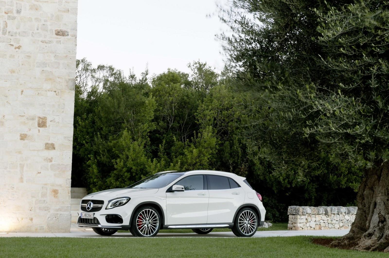 Mercedes GLA facelift and GLA 45 AMG facelift 2017 (20)