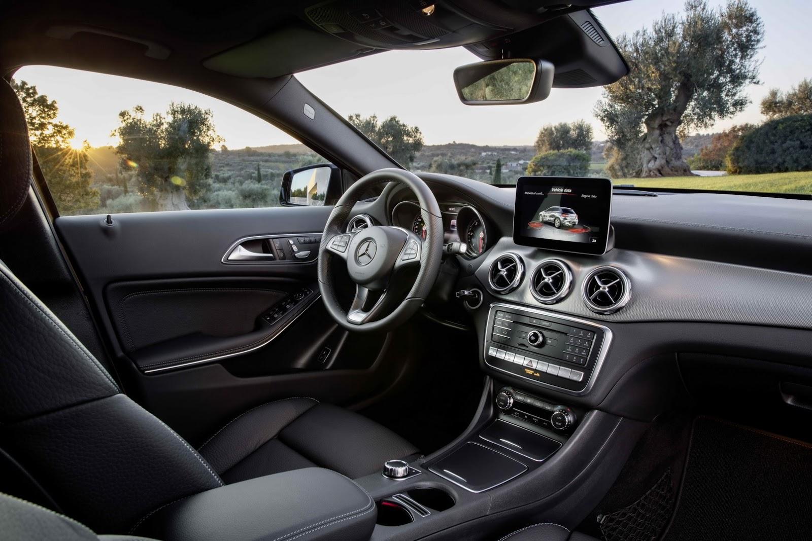 Mercedes GLA facelift and GLA 45 AMG facelift 2017 (24)