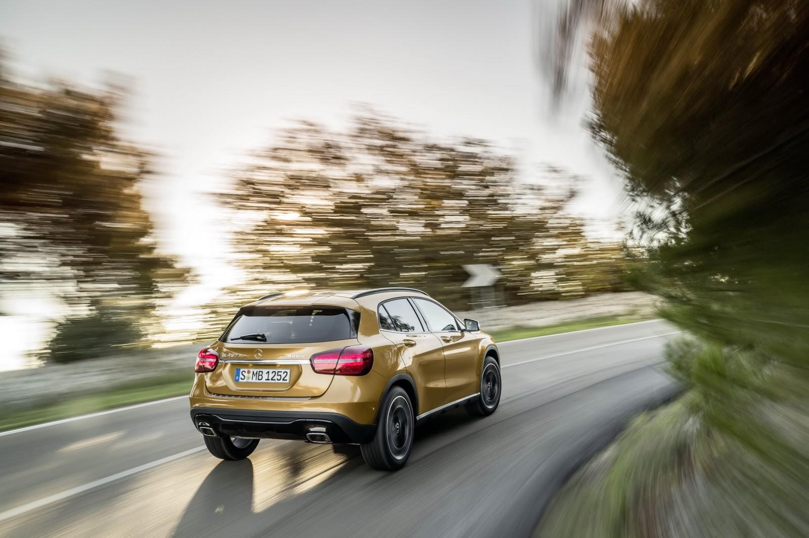 Mercedes GLA facelift and GLA 45 AMG facelift 2017 (30)