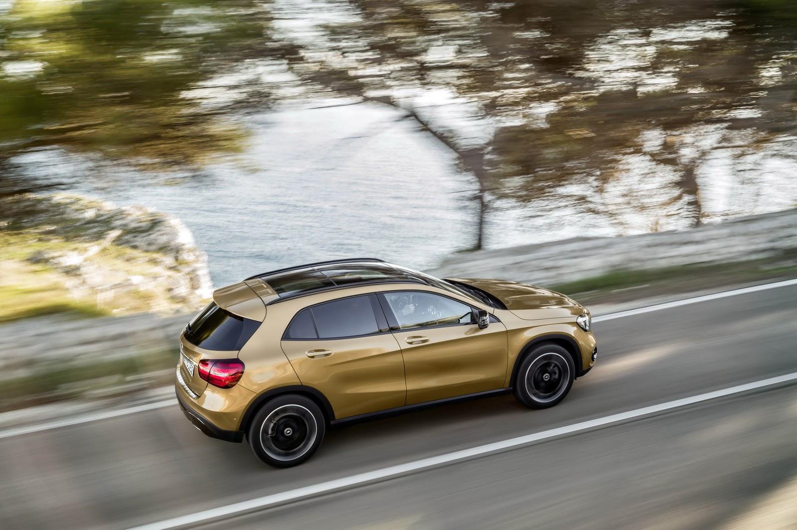 Mercedes GLA facelift and GLA 45 AMG facelift 2017 (31)