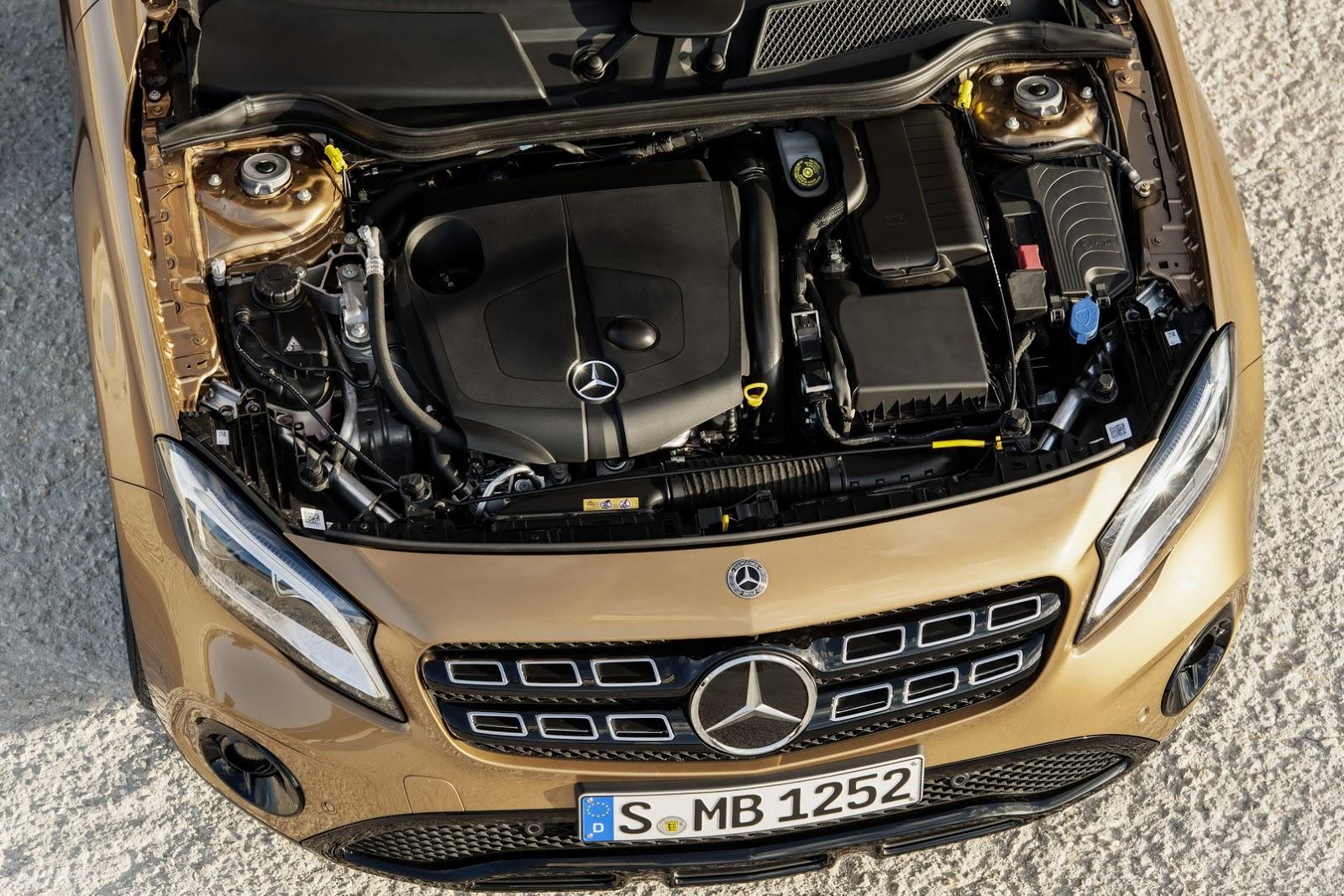 Mercedes GLA facelift and GLA 45 AMG facelift 2017 (49)