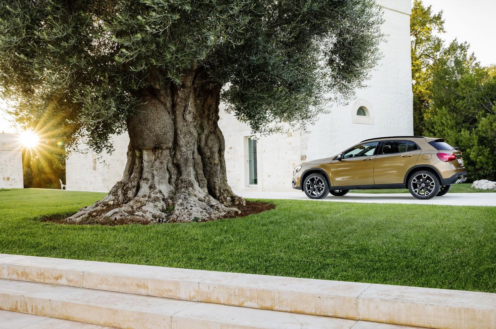 Mercedes GLA facelift and GLA 45 AMG facelift 2017 (52)