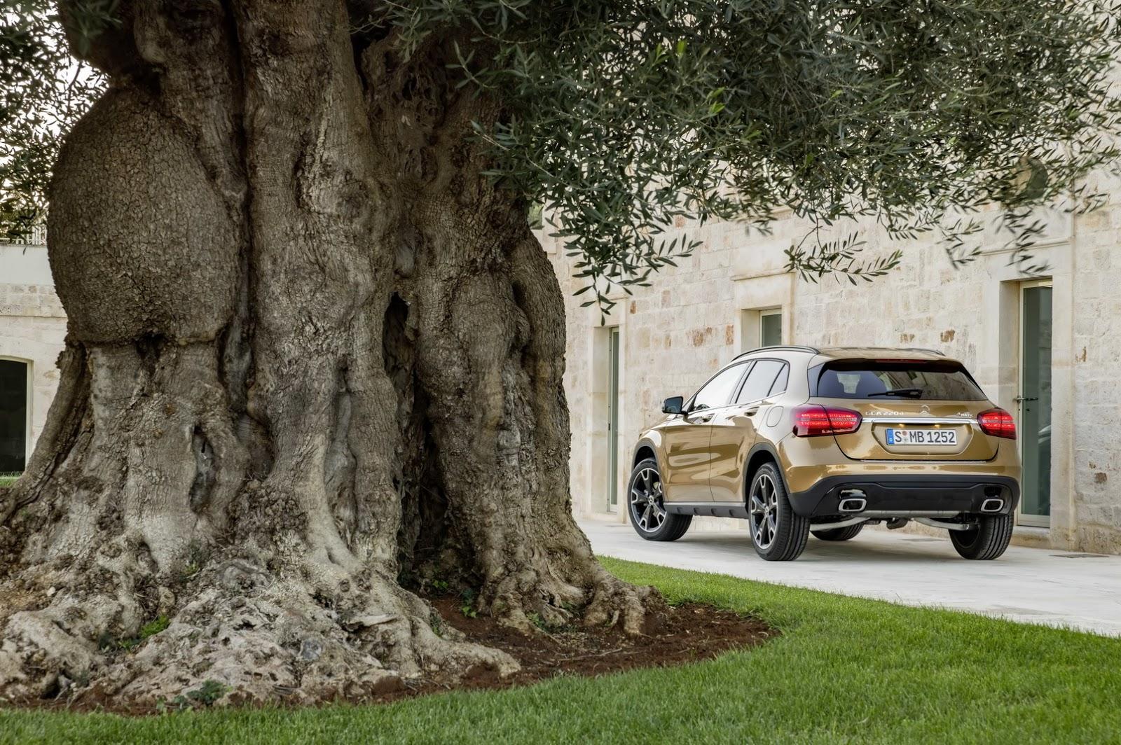 Mercedes GLA facelift and GLA 45 AMG facelift 2017 (54)