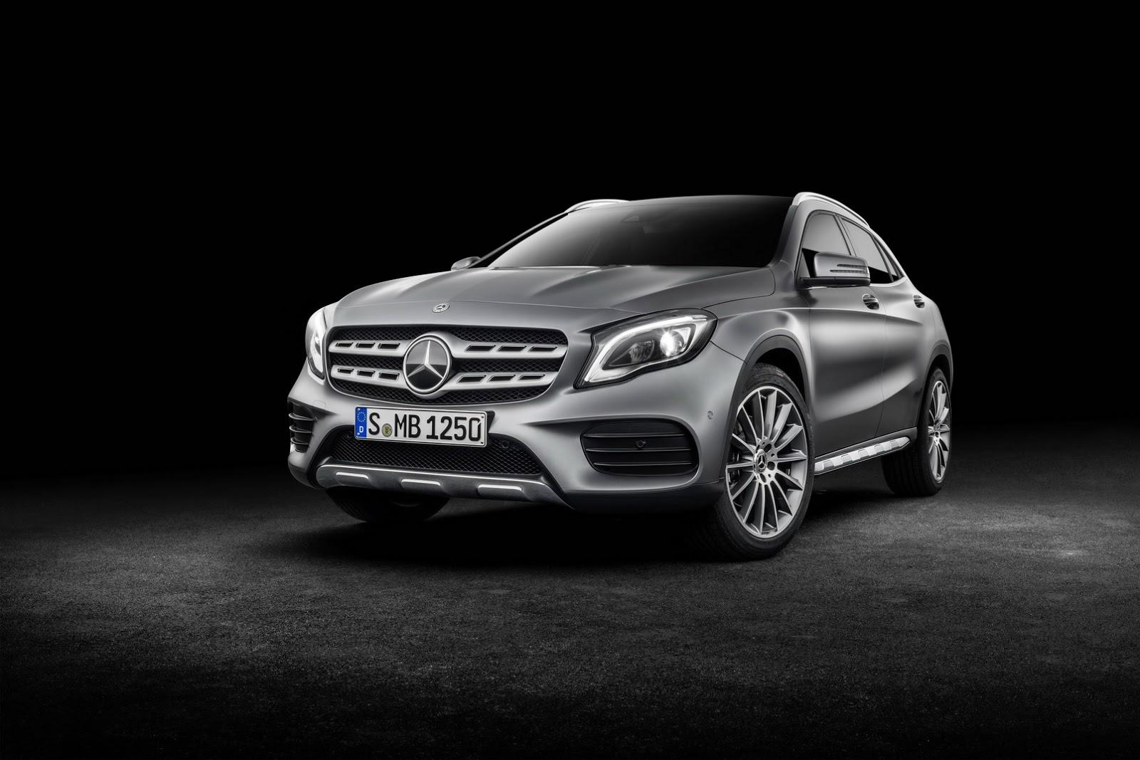 Mercedes GLA facelift and GLA 45 AMG facelift 2017 (55)