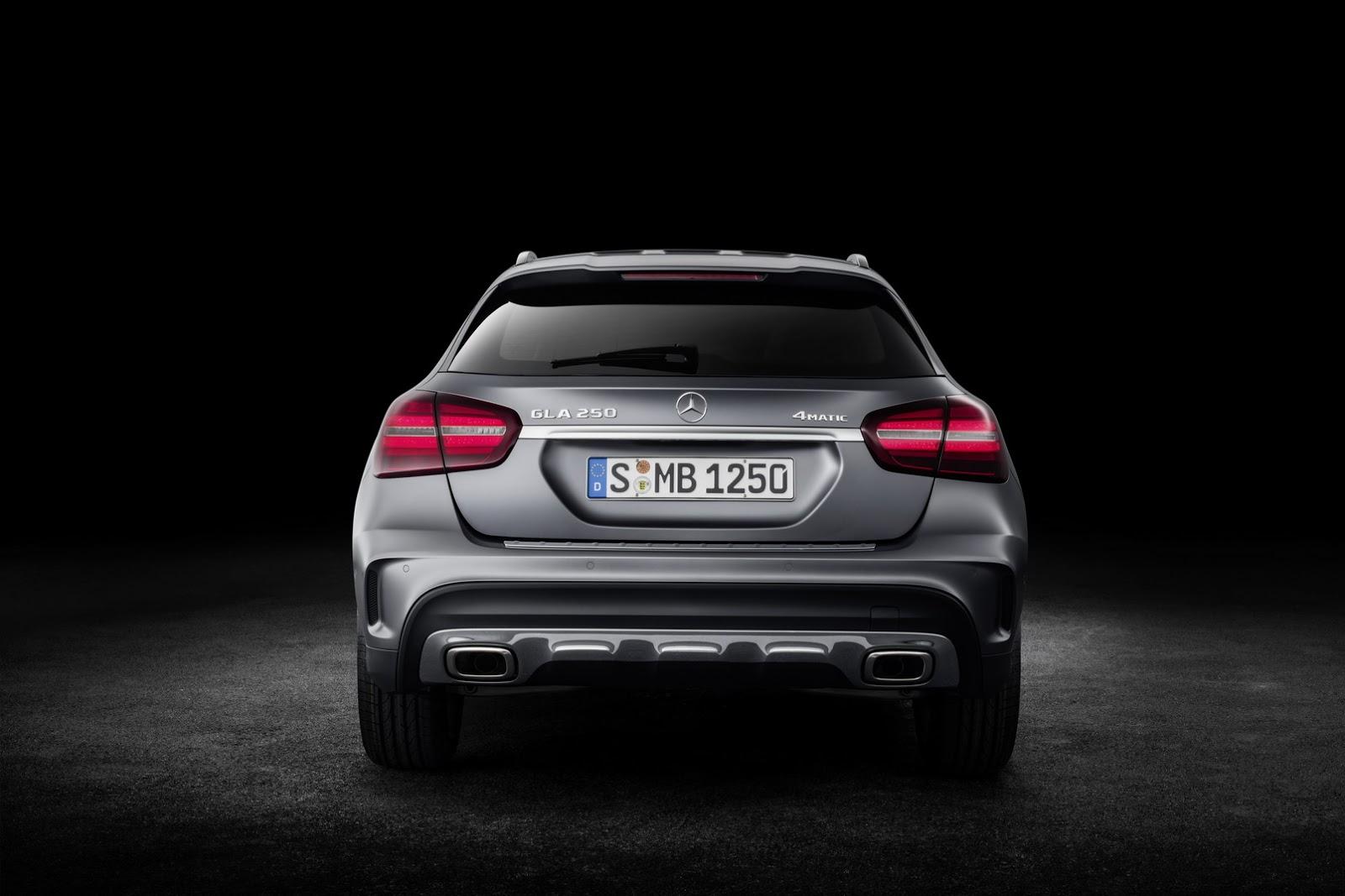 Mercedes GLA facelift and GLA 45 AMG facelift 2017 (56)