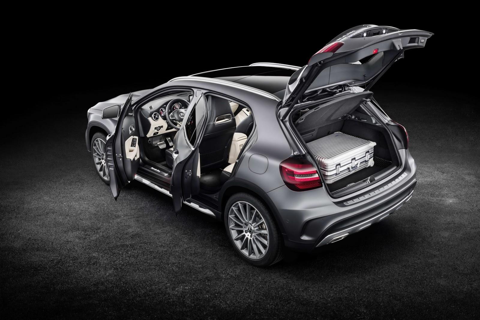 Mercedes GLA facelift and GLA 45 AMG facelift 2017 (57)