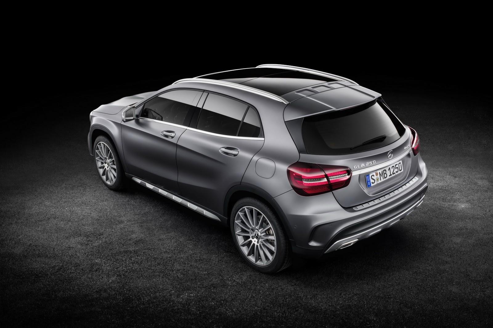 Mercedes GLA facelift and GLA 45 AMG facelift 2017 (58)