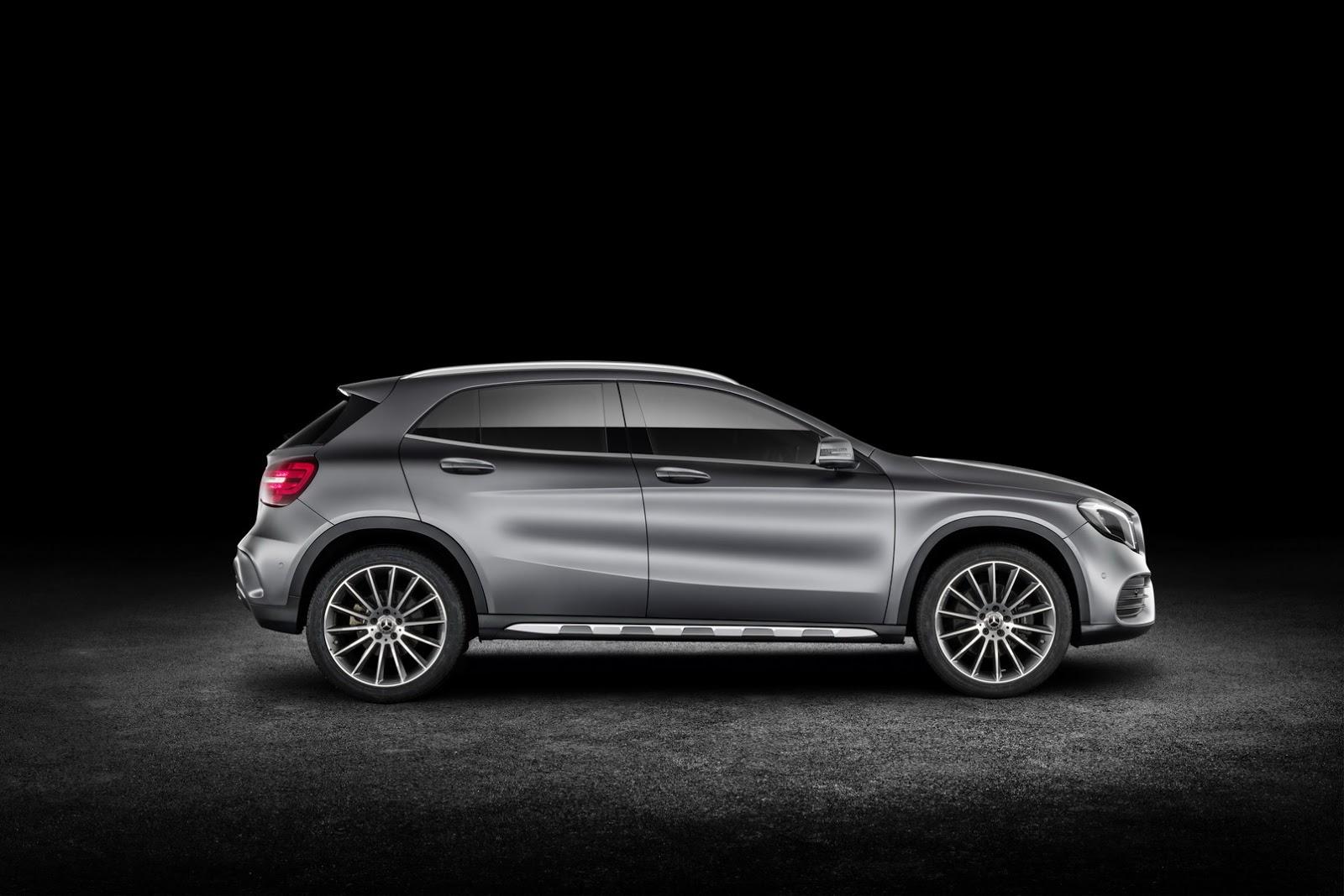 Mercedes GLA facelift and GLA 45 AMG facelift 2017 (59)