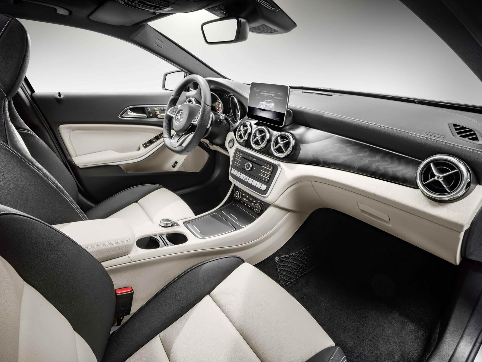 Mercedes GLA facelift and GLA 45 AMG facelift 2017 (60)