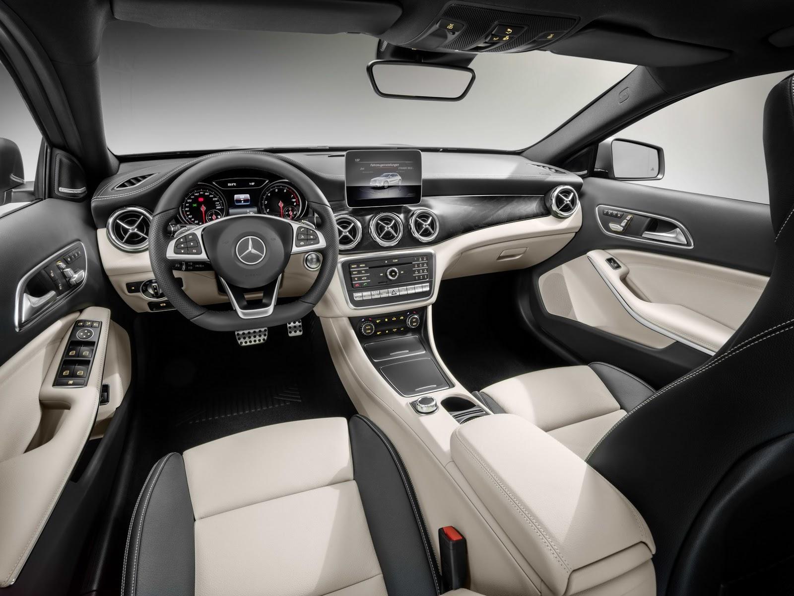 Mercedes GLA facelift and GLA 45 AMG facelift 2017 (62)