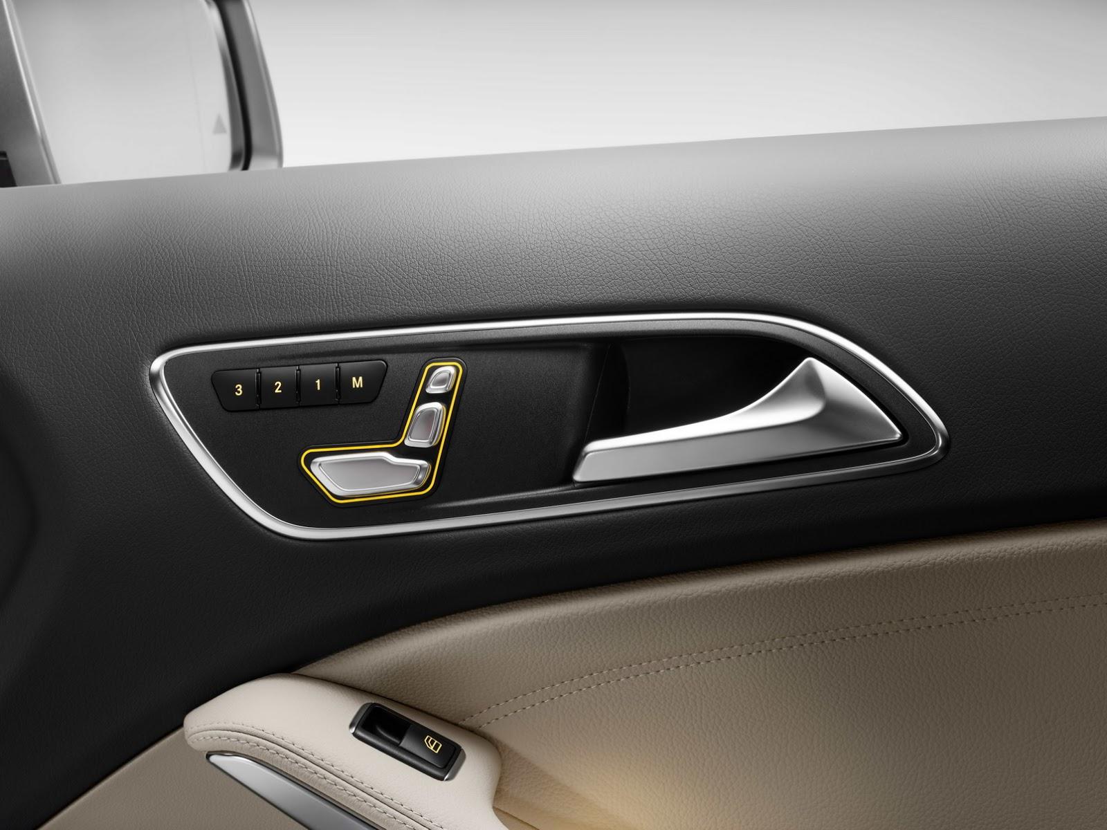 Mercedes GLA facelift and GLA 45 AMG facelift 2017 (66)
